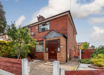 Thumbnail 3 bed semi-detached house for sale in Waverley Crescent, Manchester, Greater Manchester
