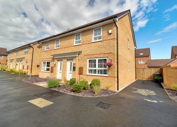 Thumbnail 3 bed semi-detached house for sale in Red Admiral Road, Worksop