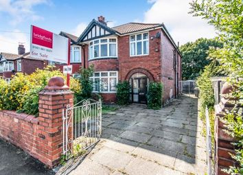 Thumbnail 4 bed semi-detached house for sale in Springbridge Road, Whalley Range, Manchester, Greater Manchester