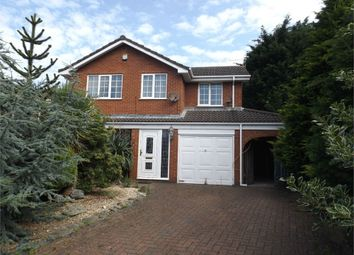 Thumbnail 4 bed detached house for sale in Lillie Close, Prenton, Merseyside