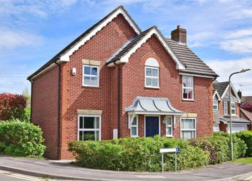 Thumbnail 4 bedroom detached house for sale in Snipe Close, Kennington, Ashford, Kent