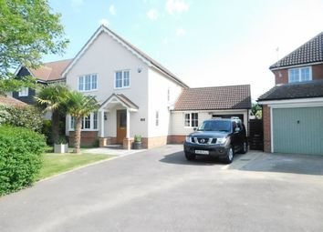 Thumbnail 4 bed detached house for sale in Dove Gardens, Stowmarket