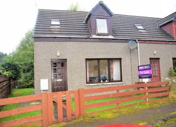 Thumbnail 2 bed semi-detached house for sale in Manse Road, Kingussie