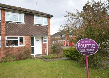 Thumbnail 3 bedroom semi-detached house for sale in Lower Weybourne Lane, Badshot Lea, Farnham, Surrey