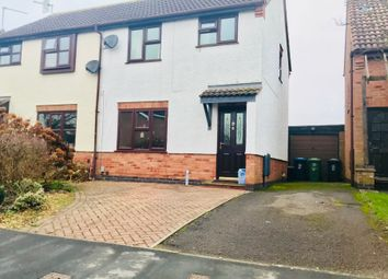 Thumbnail 3 bed semi-detached house for sale in Carew Close, Stratford-Upon-Avon