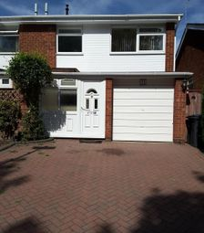 Thumbnail 3 bed semi-detached house to rent in Ingham Way, Harborne, Birmingham, West Midlands