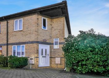 Thumbnail 2 bedroom semi-detached house for sale in Huckleberry Close, Walnut Tree, Milton Keynes