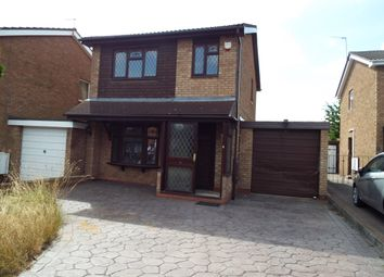 Thumbnail 3 bed detached house to rent in Verwood Close, Willenhall