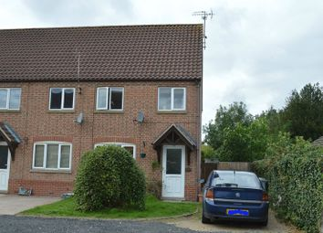 Thumbnail 2 bed town house for sale in Pings Close, Besthorpe, Newark