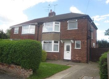 Thumbnail 3 bed semi-detached house for sale in Flixton Drive, Crewe