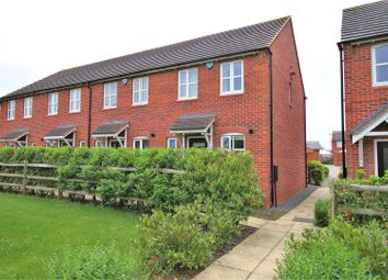 Thumbnail 2 bed terraced house for sale in Horseshoe Close, Ibstock