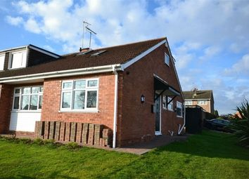 Thumbnail 3 bed semi-detached bungalow for sale in Peveril Drive, Styvechale Grange, Coventry, West Midlands