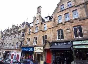 Thumbnail 3 bedroom flat to rent in Cockburn Street, Old Town, Edinburgh EH1,