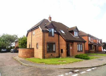 Thumbnail 3 bed detached house for sale in Long Barrow Drive, North Walsham