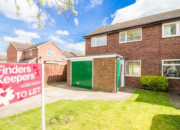 Thumbnail 3 bed end terrace house to rent in Collett Way, Grove, Wantage