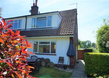 Thumbnail 3 bed semi-detached house for sale in Manor Road, Alton