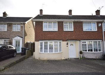 Thumbnail 3 bed end terrace house for sale in Rowan Close, Bristol