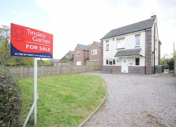Thumbnail 3 bed detached house for sale in Longton Road, Barlaston, Stoke-On-Trent