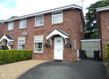 Thumbnail 3 bed semi-detached house for sale in Wyke Way, Shifnal