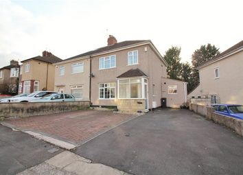 Thumbnail 3 bedroom semi-detached house for sale in Claverham Road, Fishponds, Bristol