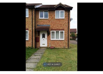 Thumbnail 2 bedroom end terrace house to rent in Stockley Close, Suffolk