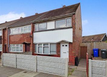 Thumbnail 3 bedroom semi-detached house for sale in Waverton Road, Bentilee, Stoke-On-Trent