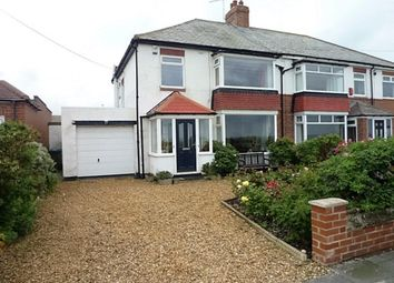 Thumbnail 3 bed semi-detached house for sale in Collywell Bay Road, Seaton Sluice, Whitley Bay