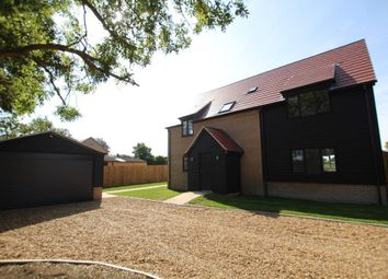 Thumbnail 4 bed detached house for sale in Lower Road, Wicken, Ely