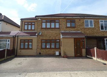 Thumbnail 4 bed semi-detached house for sale in Ellis Avenue, Rainham