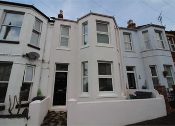 Thumbnail 3 bed terraced house to rent in Lawn Road, Exmouth, Devon.