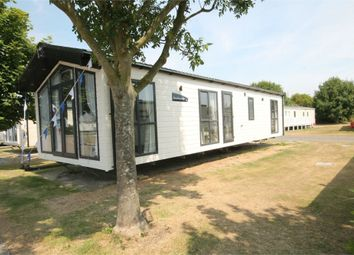 Thumbnail 2 bed mobile/park home for sale in Naze Marine Holiday Park, Hall, Walton On The Naze
