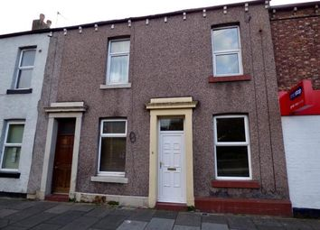 Thumbnail 1 bed terraced house for sale in Fusehill Street, Carlisle, Cumbria