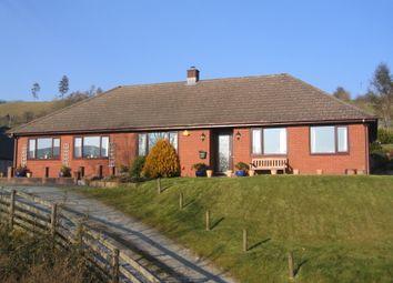 Thumbnail 4 bed detached bungalow for sale in Llanbadarn Fynydd, Llandrindod