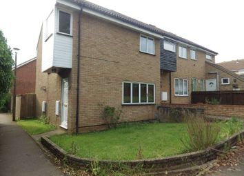 Thumbnail 3 bedroom end terrace house to rent in Otter Way, Eaton Socon, St. Neots