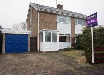 Thumbnail 3 bed semi-detached house for sale in St. Lukes Close, Cherry Willingham