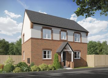 Thumbnail 3 bed detached house for sale in Way's Green, Winsford
