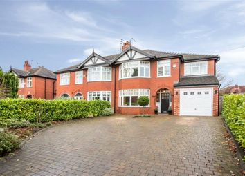 Thumbnail 4 bed semi-detached house for sale in Kempnough Hall Road, Worsley, Manchester