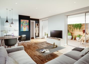 Thumbnail 1 bed flat for sale in Simpsons Road, Bromley