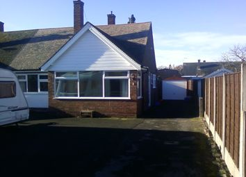 Thumbnail 2 bed bungalow to rent in Linden Close, Congleton