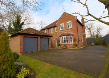 Thumbnail 4 bed detached house for sale in Peter Nevill Way, Long Riston, Hull