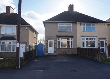 Thumbnail 2 bed semi-detached house to rent in Clarkson Avenue, Chesterfield
