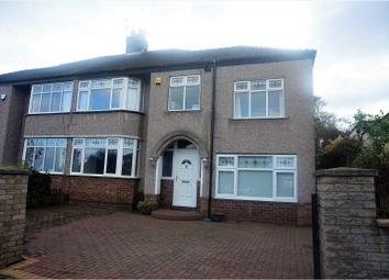 Thumbnail 4 bed semi-detached house for sale in Manor Road, Liverpool