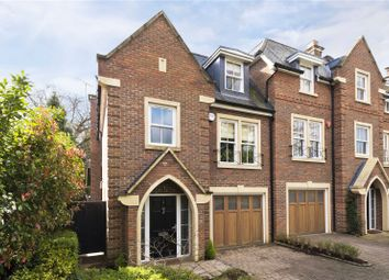4 bed end terrace house for sale in Larchfield Close, Weybridge, Surrey KT13