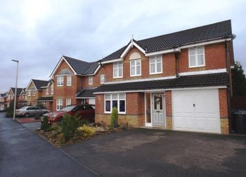 Thumbnail 4 bed detached house for sale in Perceval Way, Hindley, Wigan, Greater Manchester