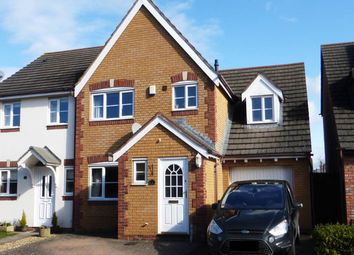Thumbnail 4 bed semi-detached house for sale in Windsor Road, Lower Bullingham, Hereford