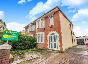 Thumbnail 3 bed semi-detached house for sale in Manor Way, Whitchurch, Cardiff