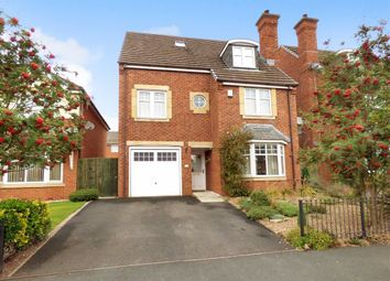Thumbnail 5 bed detached house to rent in Rolls Avenue, Crewe