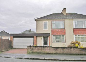 Thumbnail 3 bed semi-detached house for sale in Mossneuk Crescent, Wishaw