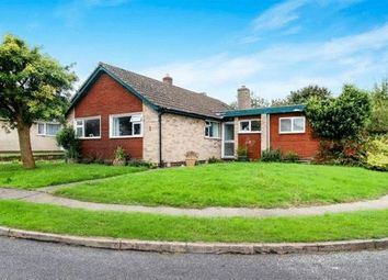 Thumbnail 4 bed detached bungalow for sale in Frensham Close, Oadby, Leicester