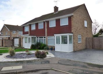 Thumbnail 2 bed semi-detached house to rent in Hardham Close, Rustington, Littlehampton